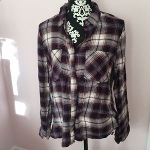 ‼️NEW WITH TAGS: plaid shirt
